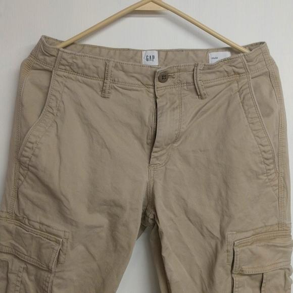 Gap 30x34 cargo pants tan